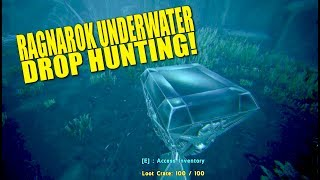 Ragnarok Underwater Drop Hunting! (Official Pvp Tribe Life) - Ark:survival  Evolved - Ep 3