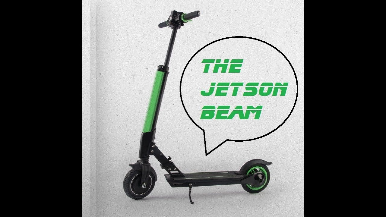 The Jetson Beam Review Mega Electric Scooter Time For Jetson