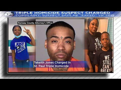 Demon Possessed Ex-boyfriend Charged w/Murder of MOTHER, and Her 2 kids In St. Paul!