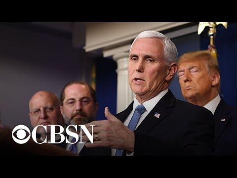 Vice President Pence To Lead U.S. Coronavirus Response