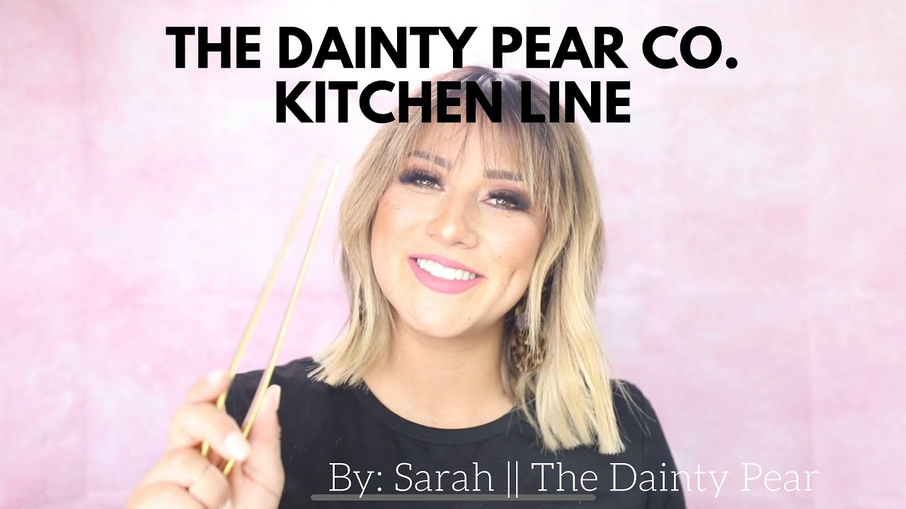 MY NEW KITCHEN LINE || The Dainty Pear