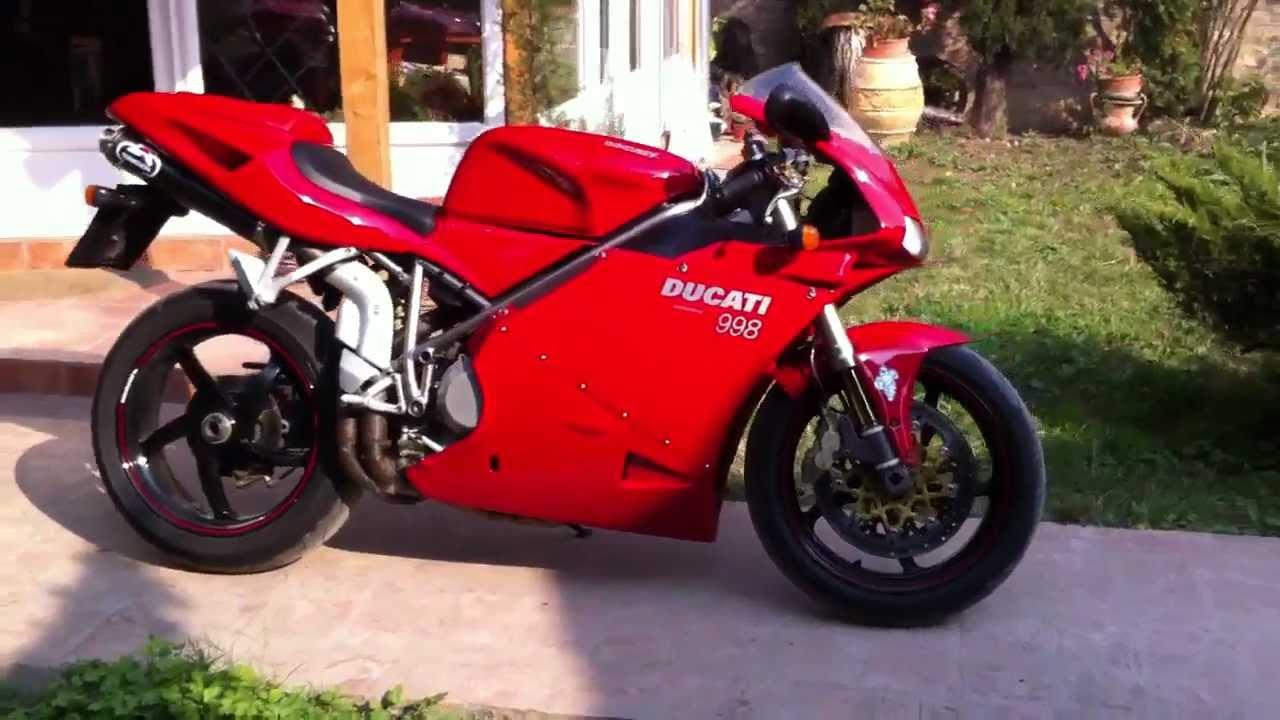 Ducati 998 Biposto Hd With Termignoni Carbon Youtube