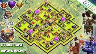 TH11 Trophy/Farming Base 2018 | CoC Best Th11 Base Layout Titan/Legend League With Gear Ups - COC