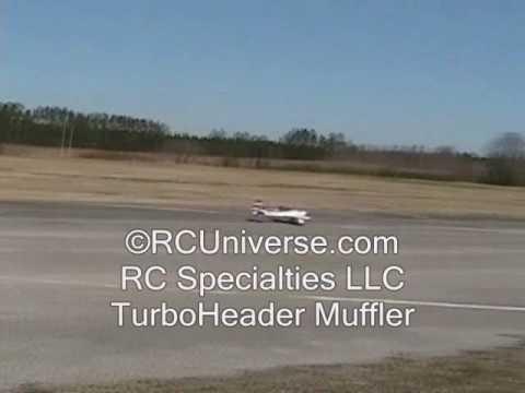 RC Specialties TurboHeader Muffler - Media Gallery