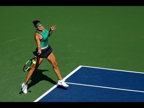 Aryna Sabalenka vs. Julia Goerges | 2018 Connecticut Open Semifinals | WTA Highlights