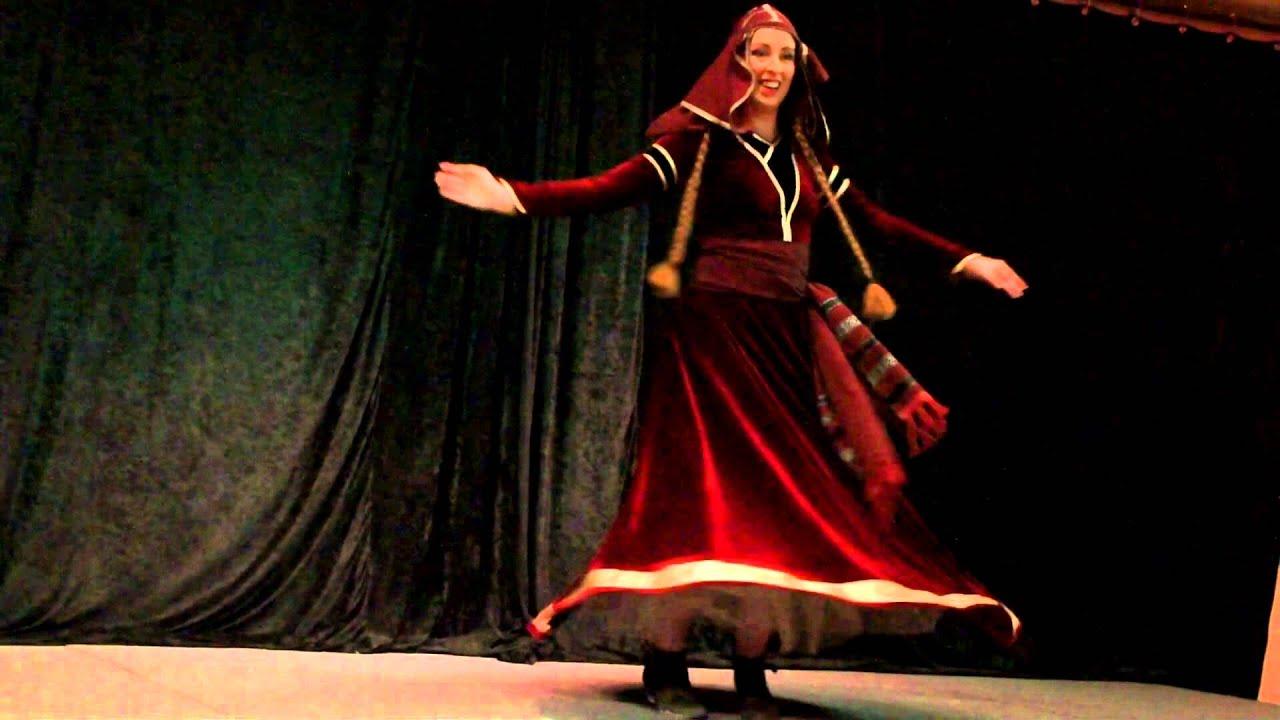 Georgian dance - Acharuli Gandagana