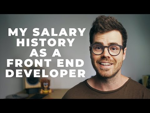 How Much Do Software Developers Earn? My Salary History (React)