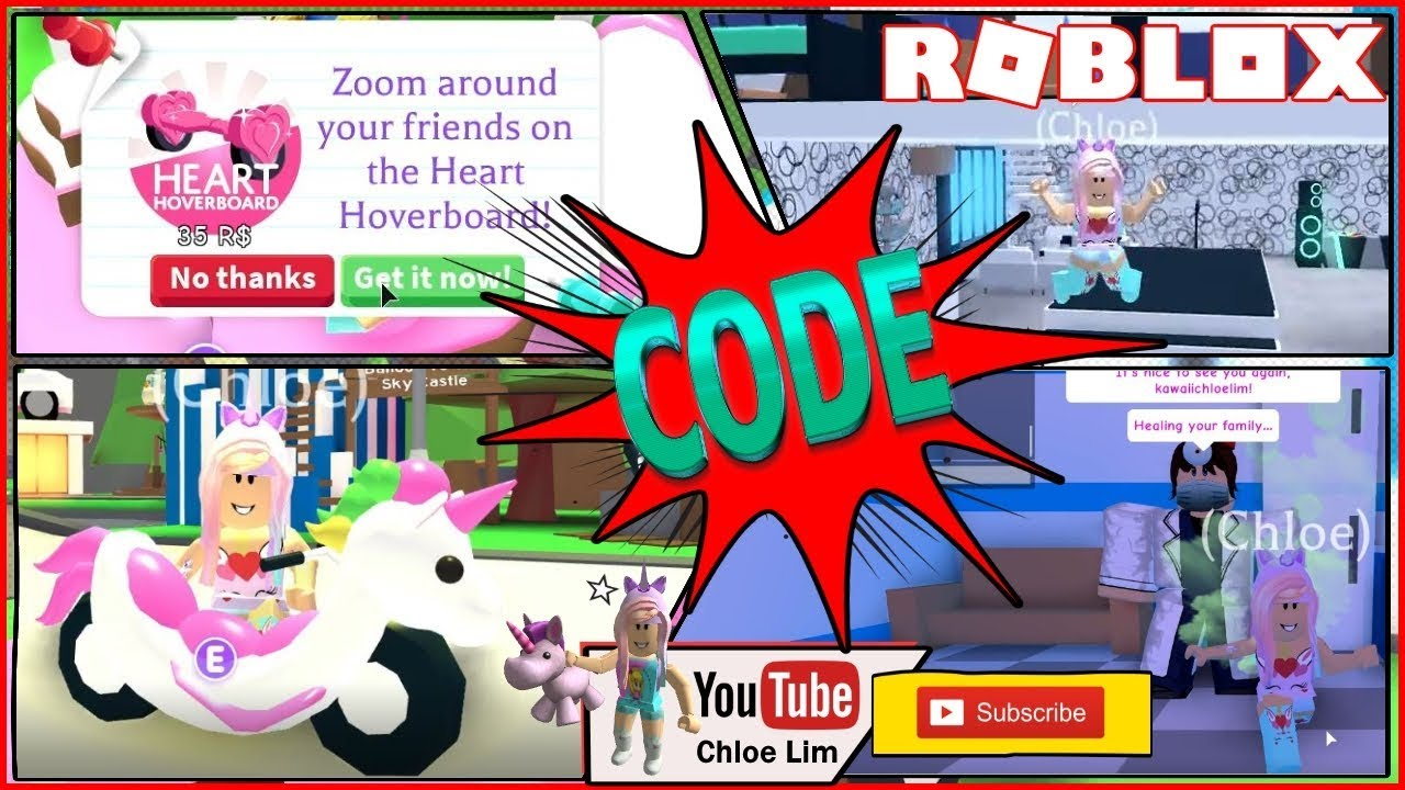 Roblox Adopt Me Gameplay! I got the Valentines Heart