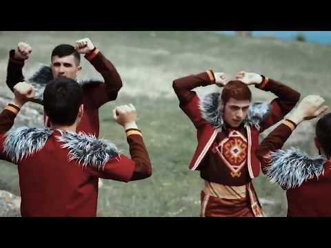 Армянские танцы , танцуют в Арцахе  Очень интересный ролик