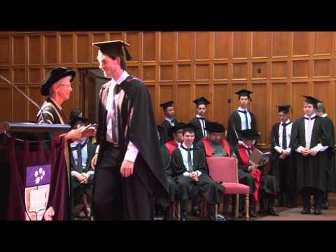 Graduation Ceremony - Thursday 30th of April 11am