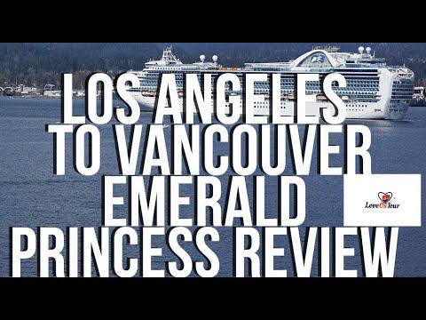 Princess Cruises Emerald Princess Los Angeles To Vancouver