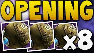Destiny - OPENING 8 JUDGEMENT CHANCE PACKAGES !!