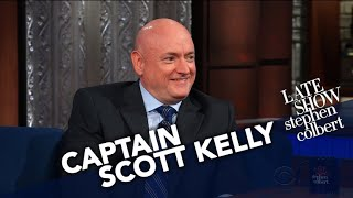 The First Thing Captain Scott Kelly Did On Earth After 340 Days In Orbit