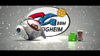 Die SG BBM Bietigheim wünscht fröhliche Weihnachten!