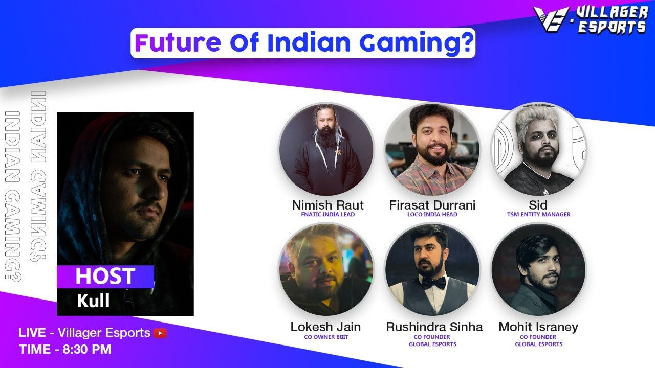 Villager Esports Discussion Panel ~ Future of Indian Gaming ? After PUBG ban!