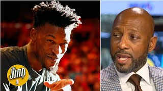 Jimmy Butler is a miniature version of me - Alonzo Mourning | The Jump Video
