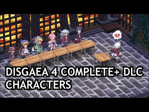 Disgaea 4 Complete Dlc Characters Nintendo Switch Youtube