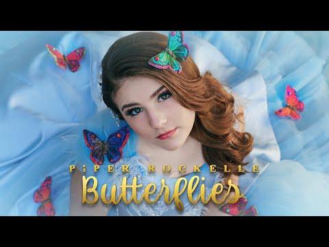 Piper Rockelle - Butterflies (Official Music Video) **TRUE LOVE**🦋🦋🦋