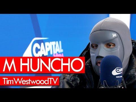 M Huncho on Utopia Birds mask UK scene Nafe Smallz label - Westwood