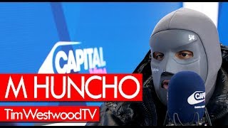 M Huncho on Utopia, Birds, mask, UK scene, Nafe Smallz, label - Westwood