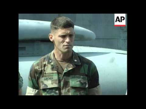 Adriatic - Rescued Pilot O'Grady