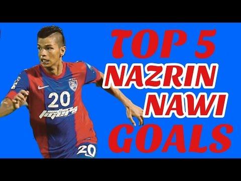 Top 5 Nazrin Nawi Goals