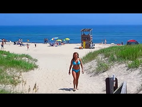 Coquina Beach Bo Island North Carolina Outer Banks Usa Video Tour