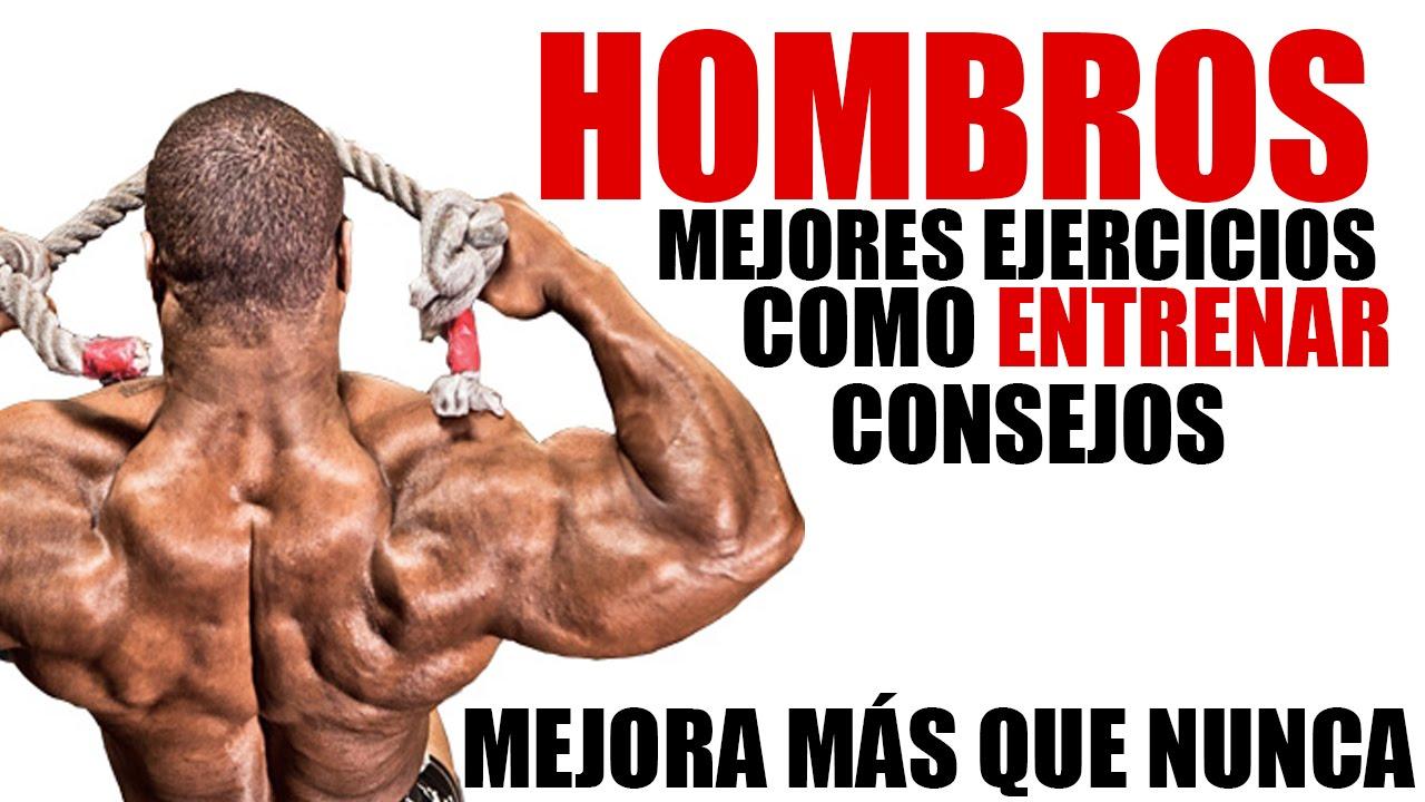 COMO ENTRENAR HOMBROS - MEJOR ENTRENAMIENTO, EJERCICIOS Y CONSEJOS ...