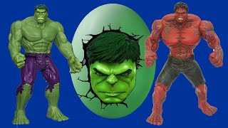 Huevo Gigante de sorpresa de hulk -  Giant egg surprise hulk