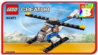 Lego Creator 30471 Helicopter   Lego Speed Review at Bogdan`s Show