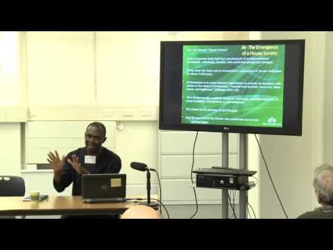 African Civilisations: Symposium on Deep Pasts, Deep Cultures - Session 2