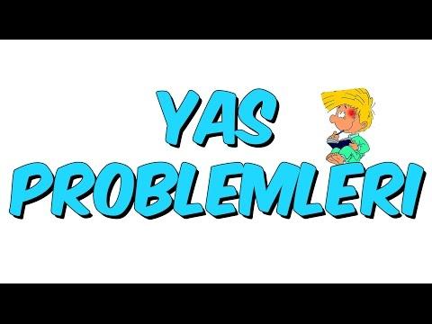 10 Dk Da YAŞ PROBLEMLERİ - MATEMATİK