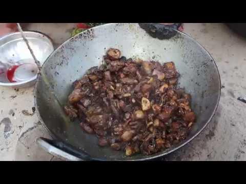 goat intestine fry