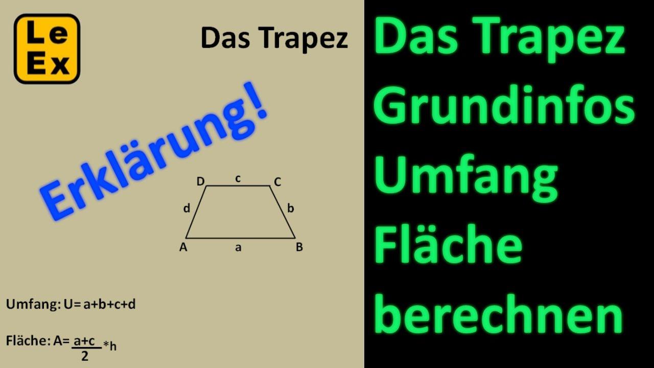 Das Trapez - Erklärung - YouTube