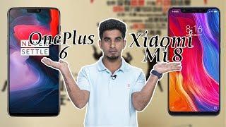 Xiaomi Mi 8 vs OnePlus 6: Comparison overview [Hindi हिन्दी]