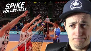 HOW TO GET SUCCESSFUL BLOCKS!!!  SOMETIMES... | Spike Volleyball Career Mode Episode 19