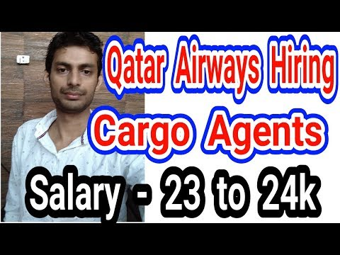 Jobs In Airlines - Qatar Airways Is Hiring For Cargo Agents