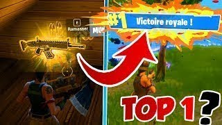 A PETIT TOP 1 COMME IN THE LOVE FT ROMAIN FORTNITE BATTLE ROYALE