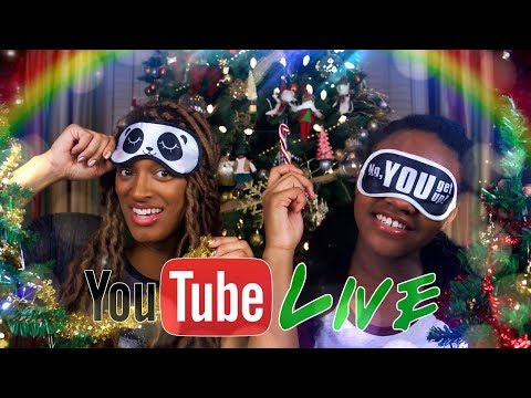 YouTube LIVE with the Froggy's   Q&A   Dollar Store Christmas Tree Challenge & More