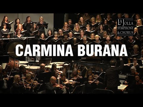 carmina burana la jolla symphony and chorus youtube. Black Bedroom Furniture Sets. Home Design Ideas