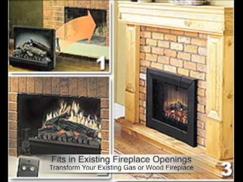 dimplex electric log insert dfi2309 - Dimplex Electric Fireplace Insert