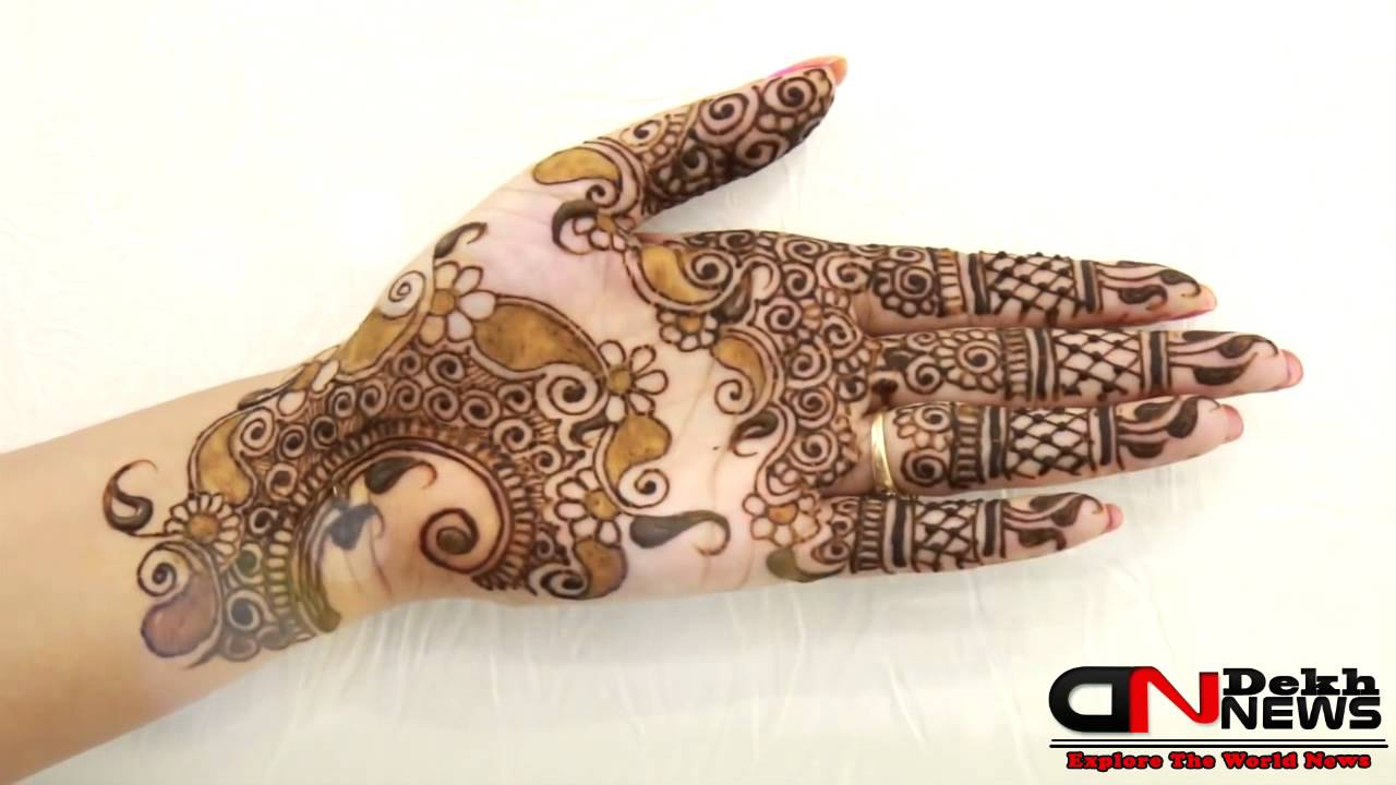 Mehndi Designs Hands Arabic Latest : Latest mehndi designs hands patterns designer arabic for bridal