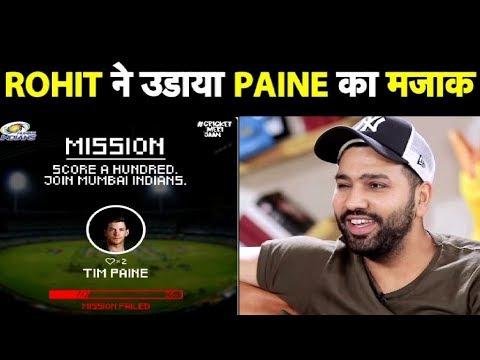 Mission Failed: After Rohit, Mumbai Indians troll Australia skipper Tim Paine| Sports Tak