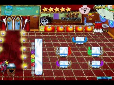 SpongeBob SquarePants Diner Dash (PC) Walkthrough (Part 9)