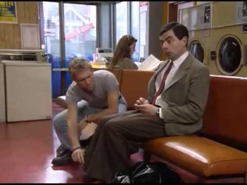 Mr. Bean - coin laundry