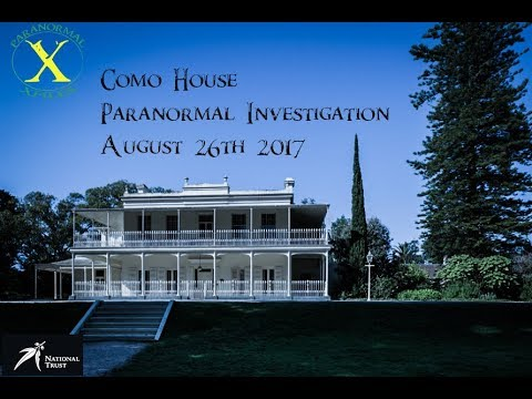 National Trust Of Victoria Paranormal Investigation Tour: Como House