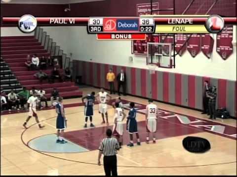 LDTV Sports: Paul VI @ Lenape Boys Basketball 12/22/14