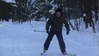 ,Берегись! Лыжник!