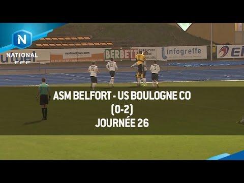 J26 ASM Belfort – US Boulogne CO (0-2), le résumé