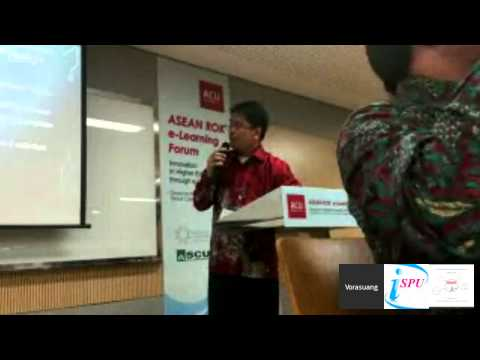 2015 ASEAN Cyber University Project   ASEAN-ROK e-Learning Forum
